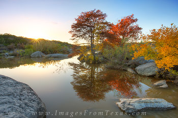 texas hill country prints,texas hill country images,pedernales falls,autumn colors,fall colors,Texas