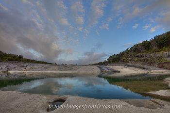 Pedernales Falls September Blue Skies 1