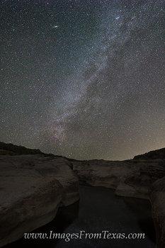 Pedernales Falls State Park - Milky Way