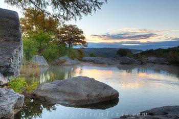 Pedernales Falls - November Oasis