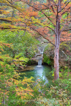 texas fall colors,pedernales falls,twin falls,texas hill country