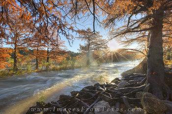 Pedernales Falls Sunrise Floods 2