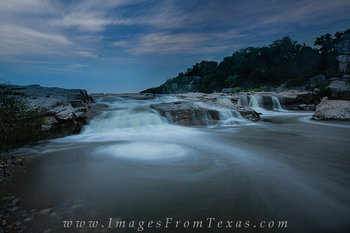 Pedernales Falls at Night 1