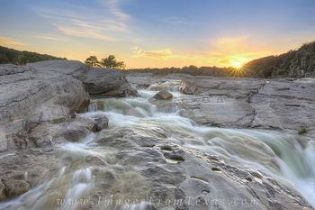 Pedernales River June Sunset 1
