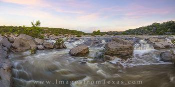 Pedernales River Morning Pano 1