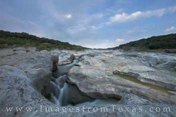 Pedernales River under a Full Moon 3