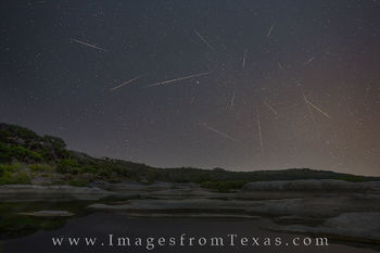 Perseids over the Texas Hill Country 2