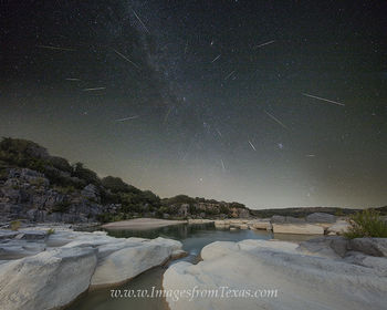 Perseids over the Texas Hill Country
