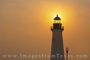 Port Isabel Lighthouse Foggy Day Sunrise 510-1