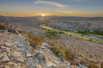 rio grande, hot springs canyon, big bend national park, big bend prints, chisos mountains