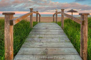 Rockport Beach - A Bridge to the Ocean