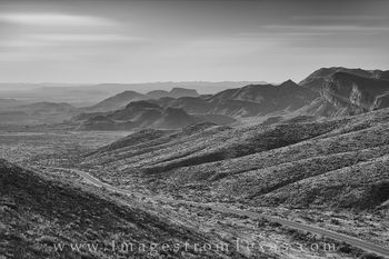 black and white, big bend national park, ross maxwell, ross maxwell scenic drive, chisos mountains, chihuahuan desert, texas drives, great texas drives, texas landscapes