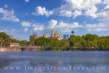 San Antonio Afternoon from Woodlawn Lake 611-2