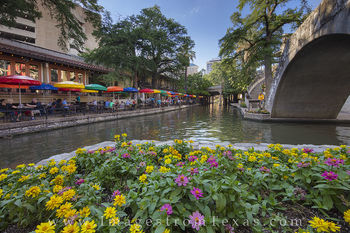 san antonio riverwalk, san antonio images, casa rio, san antonio nightlife, san antonio, riverwalk photos