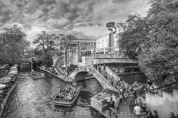 san antonio,riverwalk,black and white,downtown,san antonio prints,city prints