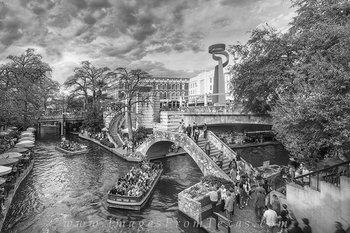 san antonio,riverwalk,black and white,downtown,san antonio prints,city prints