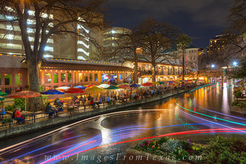 San Antonio Riverwalk Night 2