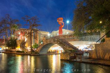 San Antonio Riverwalk Night 3