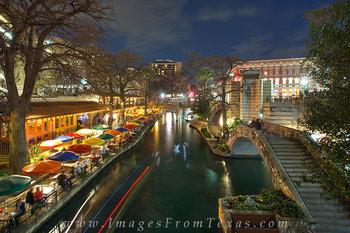 San Antonio Riverwalk Night 4