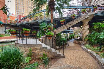 San Antonio Riverwalk Stairway
