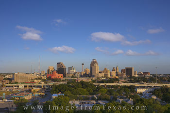 san antonio skyline, san antonio photos, san antonio cityscape, downtown san antonio, san antonio images