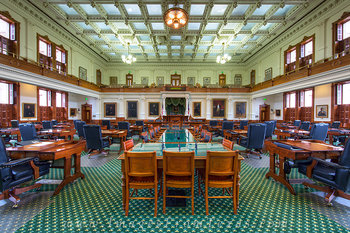 texas captiol,senate chamber,capitol interior,austin texas