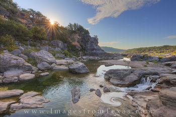 September Sunrise at Pedernales Falls 173