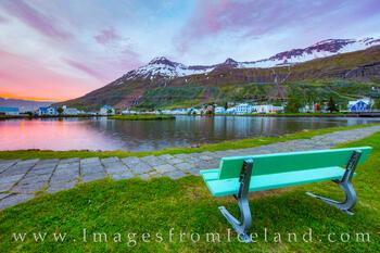 Seydisfjördur in the Midnight Sun 2