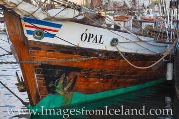 Ship in Husavik Harbor 1