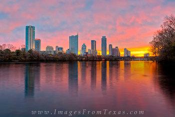 Skyline of Austin, Texas in December 2