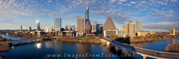Skyline of Austin on a Late Afternoon