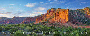 south prong, caprock canyons, overlook, panorama, sunset, orange, hiking, state parks, outdoors