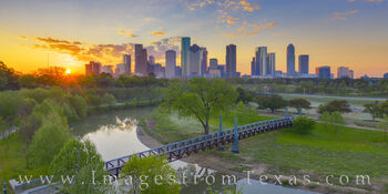 Spring Morning near Downtown Houston 329-11