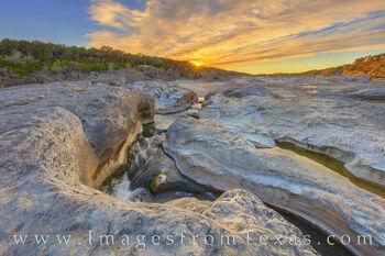 Spring Sunset at Pedernales Falls 314-3