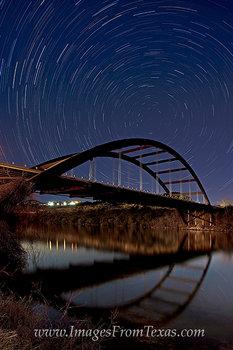 Star Trails over the 360 Bridge
