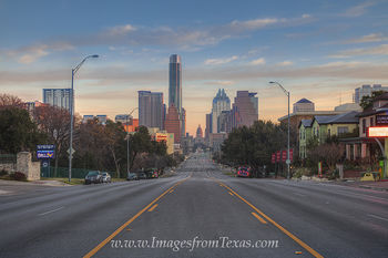 State Capitol and Austin Skyline February Morning 1