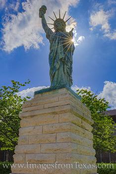 statue of liberty, replica, texas state capitol, monument, memorial