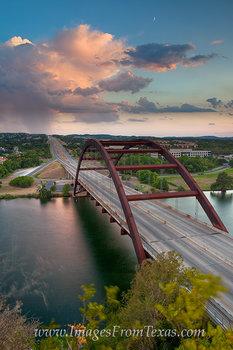 Storms near the 360 Bridge Evening 1
