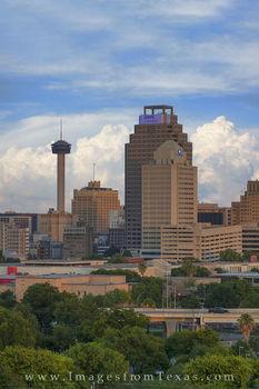 san antonio skyline images, tower of the americas, weston centre, san antonio highrise, cityscape