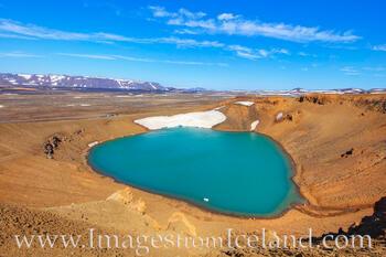 Stóra-Viti Crater in Krafla, Iceland