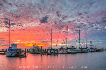 Sunrise in Rockport, Texas 1