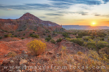 capitol peak, palo duro canyon, broom weed, palo duro prints, sunrise, west texas, panhandle, exploring, hoodoo