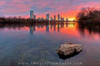 Skyline of Austin, Texas in December 1