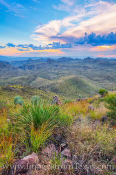 oso peak, oso mountain, big bend ranch state park, big bend ranch, hiking, sunset, evening, exploring, west texas