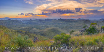 oso mountain, big bend ranch, state park, oso peak, panorama, evening, hiking, exploring, oso loop, west texas