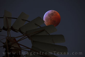 super moon, blood moon, wolf moon, lunar eclipse, texas hill country windmill, night, hill country, total lunar eclipse, red moon, orange moon, full moon