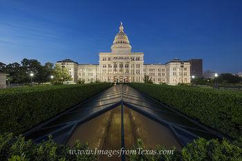 Texas Capitol September before Sunrise