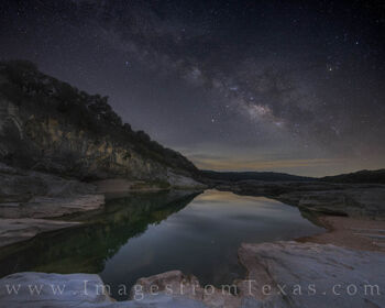 milky way, stars, night sky, hill country, texas hill country, pedernales river, pedernales, reflection, water