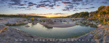 Texas Hill Country Sunset Pano 2