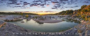 pedernales falls, pedernales river, texas hill country, sunset, september, pedernales, hill country images, pedernales images, river, panorama